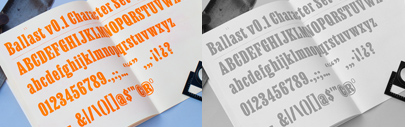 Ballast by Ben Kiel was added to Future Fonts.