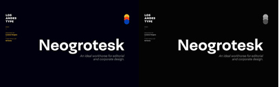 Los Andes released Neogrotesk.