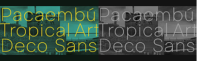 Pacaembú by Naipe was added to Future Fonts.