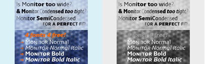 The third generation of Monitor further increases the versatility and expressive range of Monitor. Four basic styles of Monitor for free.