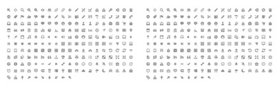 Symbolset released Junior' a collection of simplified' rounded icons by Jory Raphael.