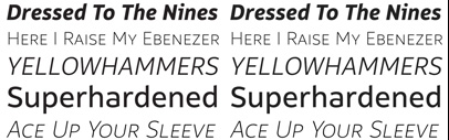 Moretype released Rehn and Rehn Condensed. Introductory offer 50% off.