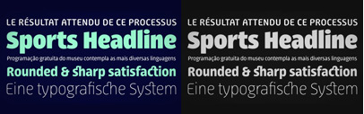 Progressiva' a sans serif type family' designed by Ricardo Esteves Gomes. 60% off till Nov 23.