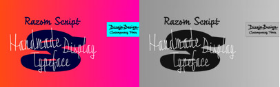 Razom Script by Ján Filípek; a script face that consists of three styles. Razom Script family is 50% off till December 21.