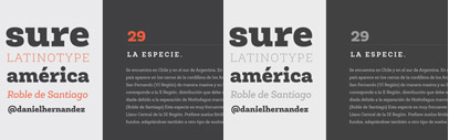 Roble' a Slab Serif Font' from a mix between Andes & Sanchez' following an harmony with both fonts one sans and one serif with a fresh and dynamic result. All family 60% off.