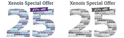 Xenois Super' Xenois Soft and Xenois Slab were added to Xenois family. 25% introductory discount is available until 31st December 2013.