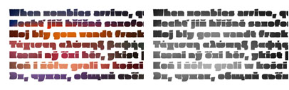 Pufff' an extremely fat typeface' by Mota Italic.