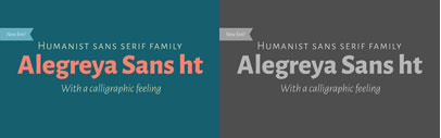 New humanist sans serif' Alegreya Sans by Huerta Tipográfica. Available for free download.