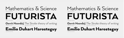 Arquitecta' a new sans serif by Latinotype. Introductory offer 85% off till February 22.