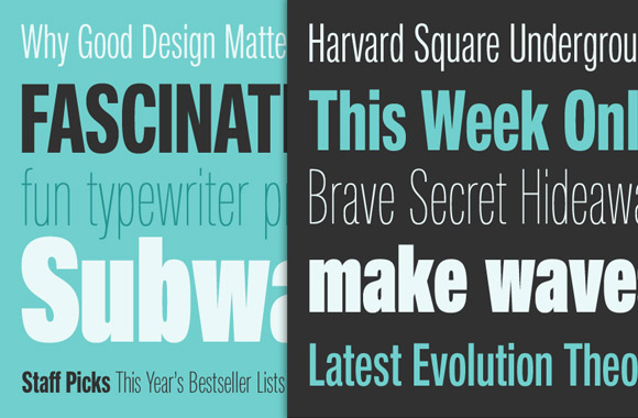Font News [New Font Release] Neue Helvetica Compressed: From