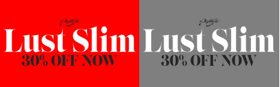Lust Slim' a narrow display modern serif' by @positype. 30% off till Mar 27.