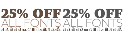 All fonts from @gtypefoundry are 25% off till Feb 28.