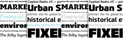 Bague Slab Pro and Benchmark Pro' new typefaces by @parachutefonts.