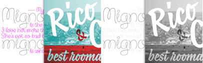 LolaLola FY and Coco FY' new script typefaces by @fontyouverymuch. 50% off till May 12.