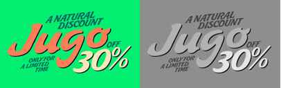 Jugo Script is a Koziupa/Paul near-parody of the soft and speedy late-1980s' early-1990s display scripts. 30% off until Jun 6.