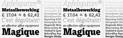 Muriza' a slab serif' by @typemefonts