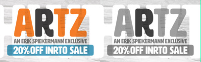 HWT Artz' a wood type designed by @espiekermann 20% off till June 30