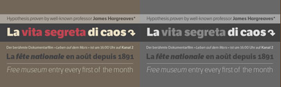 LFT Etica now includes 24 new styles come in two series: 12 condensed fonts and 12 compressed ones.