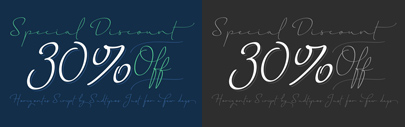 Horizontes Script is the result of @PancoSassano's personal experimental calligraphy project. 30% off till August 30.