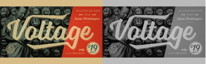 Voltage by @L_Worthington. You can get all three weights for the price of one till September 12.