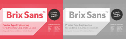 Brix Sans' the companion of Brix Slab' by @hvdfonts. Brix Sans Complete is 80% off till September 27.