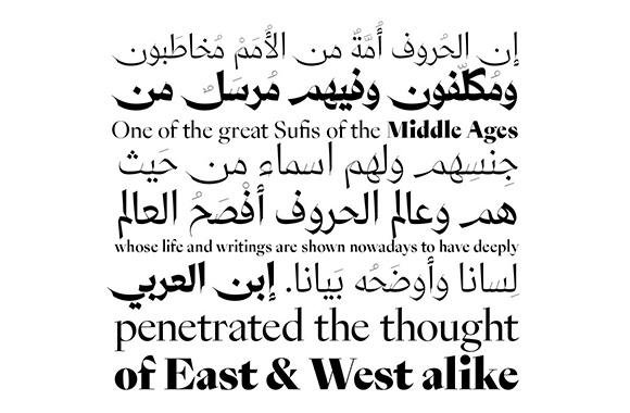 contemporary arabic and latin typeface designed by pascal zoghbi 29 letters and ian party swisstypefaces httpwww29lt fonts comretail150