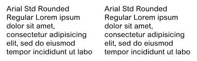 Rounded/Blunt-Cornered Fonts   TYPECACHE COM