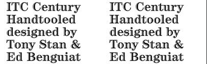 Inline, Outline, Handtooled Fonts No 1 | TYPECACHE COM